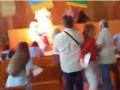 Под Житомиром бизнесмен устроил самосожжение на сессии горсовета