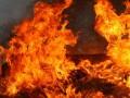 Под Днепром на ферме горел парк комбайнов