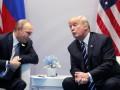 Встреча с препятствиями: карикатура на Трампа и Путина