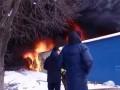 В Черновцах горит один из крупнейших рынков