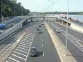 В Киеве ограничили движение по крупной транспортной магистрали