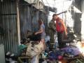 В Славянске горел Центральный рынок: есть пострадавшие
