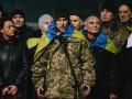 Кириченко выступил с речью после 1212 дней в плену ДНР
