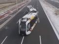 Китай протестировал первый в мире безрельсовый поезд