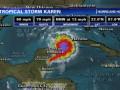 К побережью США движется мощный тропический шторм Карен