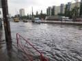 Левый берег Киева затопило