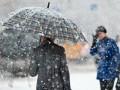 В ближайшие сутки на территории Украины ожидают первый снег