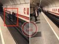 В метро Киева мужчина упал на рельсы