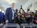 Кличко и Береза лидируют на выборах мэра Киева