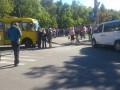 Продавцы ярмарки перекрыли дорогу в Святошинском районе Киева