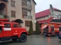 Пожар в отеле на Закарпатье: Эвакуированы десятки людей