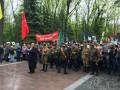 В Харькове произошли потасовки из-за георгиевских ленточек