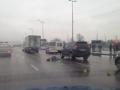 В Киеве самоубийца прыгнул с моста на оживленный проспект
