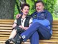 У Януковича опровергли развод с женой Людмилой