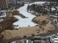 Прокуратура решила проверить информацию Я-Корреспондента о засыпке строителями озера на Позняках
