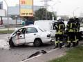 В Киеве столкнулись Daewoo и Mercedes: двое погибли, двое госпитализированы