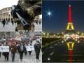 День в фото: Чернобыльцы в Киеве и скорбящая Европа