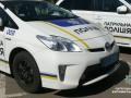 В Житомире полицейская машина врезалась в две легковушки