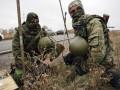 В Донецкой области на растяжке подорвался украинский военный