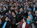 В центре Донецка молодежь танцевала сальсу (ВИДЕО)