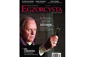 Обложка первого номера Egzorcysta