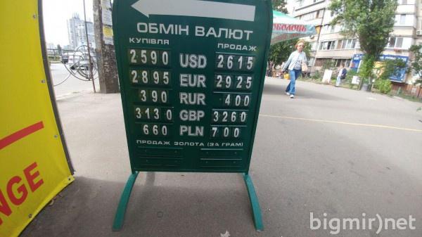 В обменниках Украины доллар утром в пятницу, 12 июля, можно купить по 26,15 грн/долл