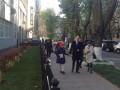 Выборы в Верховную Раду 2014: Яценюк проголосовал с женой и дочкой