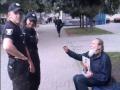 В Ровно дедушка ждал российские танки с портретом Николая II в руках