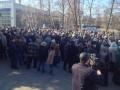 В Харькове митинговали сотрудники авиационного завода