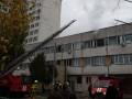 В Киеве горела больница, пострадавших нет