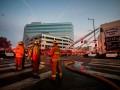 В Лос-Анджелесе произошел сильный пожар: пострадали 11 спасателей