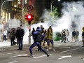 Ночные беспорядки в Белграде: пострадали 43 полицейских и 17 активистов