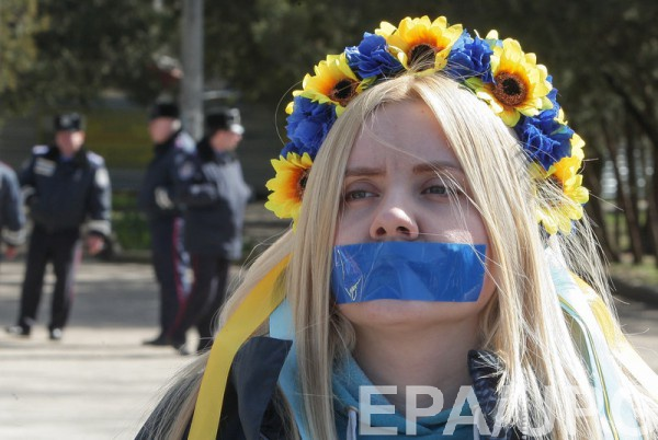 Украина в рейтинге свободы прессы поднялась с 129 на 102 место