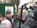 На киевском Майдане полиция подралась с ФОПами из-за палаток