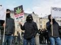 В Киеве на акции по легализации конопли произошли стычки