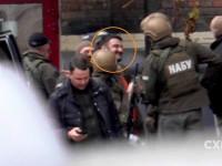 Появились первые видео с задержанным сыном Авакова