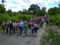 Смерть активиста Бычко: люди блокируют трассу и пикетируют полицию