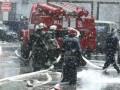 В Киеве на Шулявке горит самый большой склад секонд-хенда