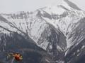 В Альпах самолет с туристами столкнулся с вертолетом