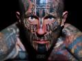 В Киев едет самый татуированный человек в мире