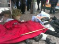 На Майдане лежат тела убитых снайпером - очевидцы