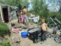 В милиции заявляют о непричастности к пожару в цыганском таборе в Киеве
