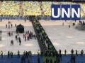 Огромные очереди: При входе на НСК зрителей делят на сектора - трансляция