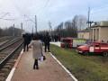 Под Коростенем в поле срочно остановили поезд Интерсити