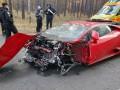 Под Киевом на киносъемках случайно разбили Lamborghini