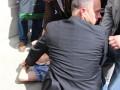Президента Польши в Луцке запачкали яйцом, подозреваемый задержан