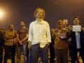 В Стамбуле демонстрант неподвижно простоял посреди площади Таксим восемь часов