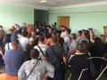 В Болграде люди штурмом взяли РГА после решения ужесточить карантин