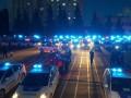 Как патрульная полиция Киева провела свой первый ночной патруль