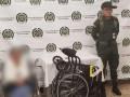 В Колумбии нашли 17 кило кокаина в инвалидной коляске